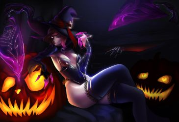 Bewitching Evelynn by Sayomi96