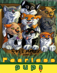 Fearless Pups Cover Page by Gerundive