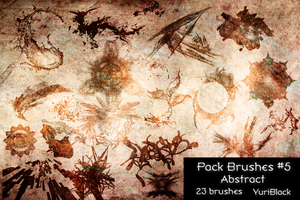 Pack Brushes #5 - Abstract by YuriBlack