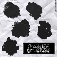 Smudge Brushes RoseCabriolet by RoseCabriolet