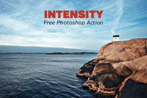 Free Intensity Photoshop Action by loadedlandscapes