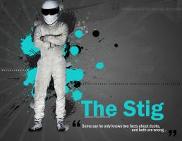 The Stig wallpaper pack by alfala7i