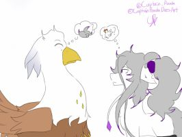 Blank meets Silver Quill by CaptainPandaDoesArt