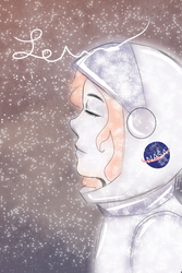 Frozen space by Iamtheturtleartist