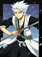 SS - HITSUGAYA for O-renji by Jennaris