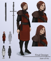 TBE - Concept Design - Joan of Arc by Ilyaev