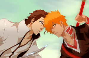 Collab - Ichigo vs Aizen by Zanpakuto-Leader