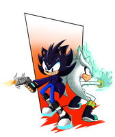 SpecialRequest:Co Battle Andrew and Silver by AzureJinto