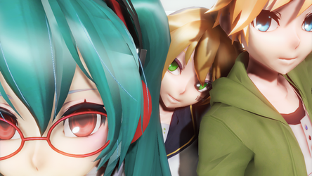 Test Models and new shader by 01mikuxlen02