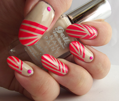 Creamy Punch Stripes by Ithfifi