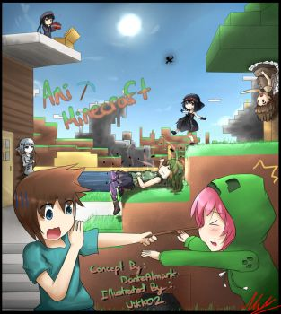 Animinecraft by HOAIartworks