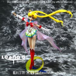 1/8 Super Sailor Moon Resin Figure by LeonasWorkshop