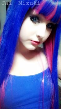Stocking Anarchy [Makeup Test] -4- by JaiMizuki