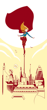 CBS Supergirl by mikemaihack