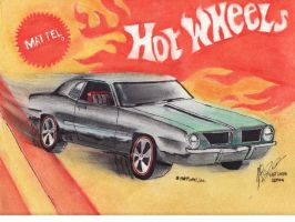 Retro Hot wheels Packaging by FastLaneIllustration