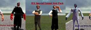 TF2 Special Casual Vest Pack by MikotoNui