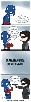 Captain America: The Winter Soldier by caycowa