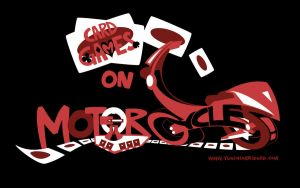 Cardgames on Motorcycles by yugioh-abridged