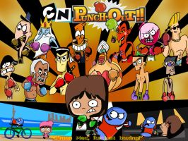 Cartoon Networks' Punch Out! by xeternalflamebryx