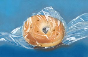 onion bagel in a bag by classina
