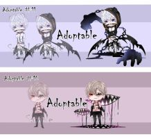 [Closed] Adoptable #10-11 ( Auction ) by DearKM