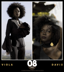 // PHOTOPACK 3801 - VIOLA DAVIS // by censurephotopacks