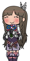 Chibi Sumia by roseannepage