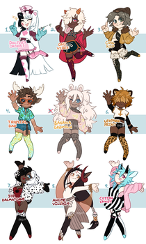 DAINTY MINIS {RAFFLE SALE- CLOSED!} by Pajuxi-Adopts