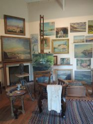 Winston's painting studio [Chartwell] by AloiInTheSky