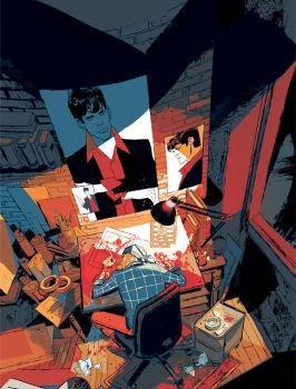 DYLAN DOG 369 Cover by GigiCave