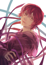 redone: red hair by BLACKlbutterfly