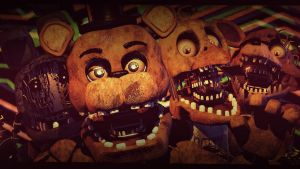 Withered Friends [REDO] (fnaf sfm) by JR2417