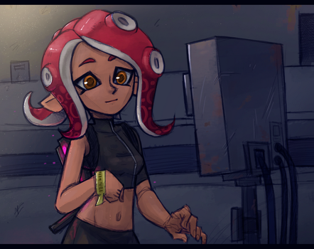 Octolong by splatoon2 Octo Expansion by sheinarton