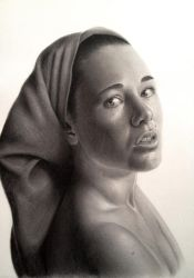 Girl with a Turban by ianwilgaus