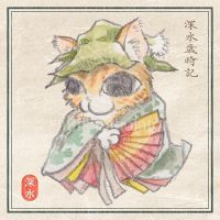 [Kitten] Japanese confectionery -Hutari shizuka- by chills-lab
