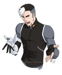 Voltron: Shiro by Sideburn004