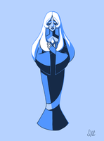 Steven Universe: Blue Diamond by Atenovx