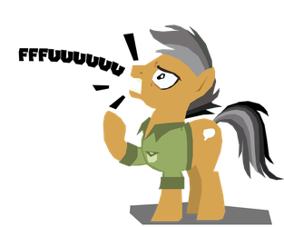 Angry Horse by TwistedGale