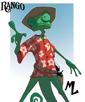 Rango by mad-arts