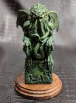 Cthulhu Idol Front View by zombiecarter