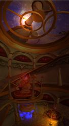 Tower of Mages by Abhorash