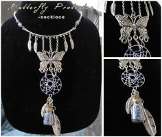 Butterfly Protector - necklace by SaQe