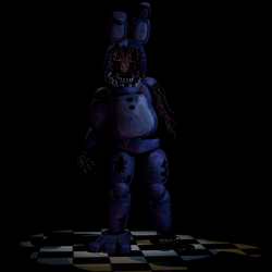 Withered Bonnie Extra (1/4) by EndyArts