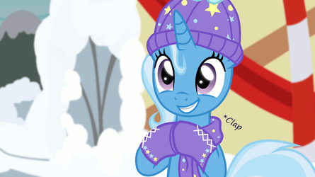 Clapping Trixie (GIF) by Evil-DeC0Y