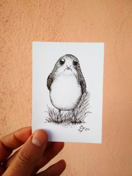 Porg (From Star Wars: The Last Jedi) by StephanoAnt
