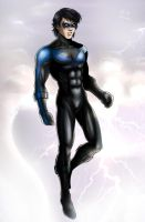 Nightwing - 2 by Autumn-Sacura