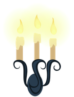 MLP Resource: Candle Sconce 01 by ZuTheSkunk