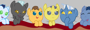 A Colt Sleepover in the Nursery by 3D4D