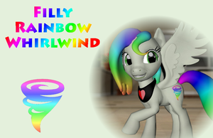 Little Rainbow Whirlwind by Neros1990