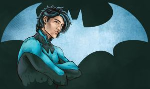 Nightwing by LenleG